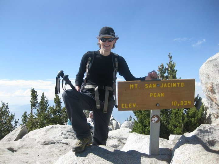 Standing proudly at the summit of Mt. San Jacinto