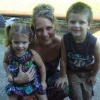 Years ago with my two oldest children.