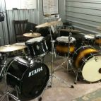 The two kits at my lesson space.