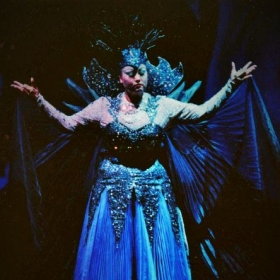 "The Queen of the Night from the ""Magic Flute"" by Mozart, Indiana University"
