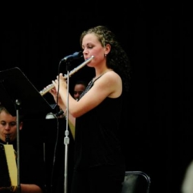 Jazz Band Concert Flute Solo