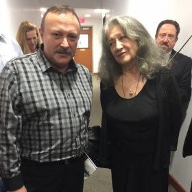 With Martha Argerich. The best Pianist in the world.