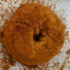 Vegan Doughnut with Coconut Sugar Topping