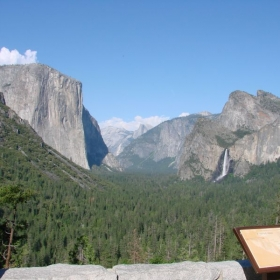 Our beloved Yosemite is one hour north of our home.  My father maintained radio equipment there, and I grew to love the place.