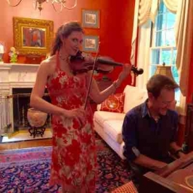 Improvising for a party May 2015