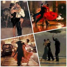 All styles of ballroom and Latin dancing