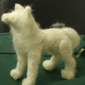 Wool Needle Felting - Adult student