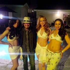 On the scene of a video shoot with a female vocal group I musically direct.