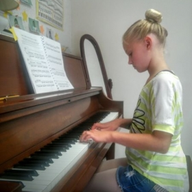 Piano Student at Encore Music Studios Westerville