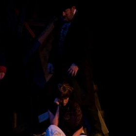 Taken from Upper Room Theatre's 2014 production of Les Miserables; shown here as Fantine.