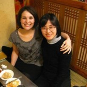 My very first assistant teacher in Korea from 2007. The time has really flown by! She visited me when she left Korea.