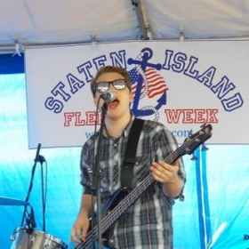 Playing for the US Navy @ Staten Island NY Fleet Week.