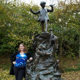 Peter Pan Statue in England. I love this book and Disney classic growing up and it was always a dream of mine to see it in person!