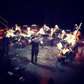 Soloing with Camerata Washingotn Heights