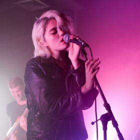 Sky Ferreira performing in London