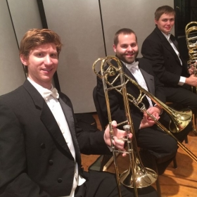Wheeling Symphony Trombone Section - 2014