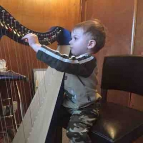 Harp is fun for all ages!