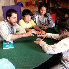 Teaching Magic at French Woods.
