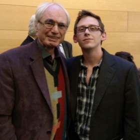 With esteemed composer Tigran Mansurian.