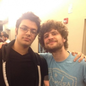 Met Mike Leage from Snarky Puppy after the show!