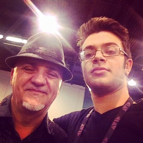 Hanging out with Frank Gambale from RTF at NAMM