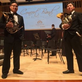 SJSU Wind Ensemble Tour in Fresno, Spring 2015 - With Jo Oquendo
