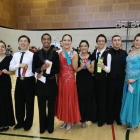Cal Poly Mustang Ball, February 20, 2016 - With SJSU Dancesport Team Standard Dancers