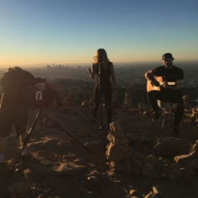 Video Shoot with Dead Heroine at the Wisdom Tree, California