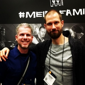 MichEal and Drummer Benny Greb