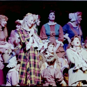 Ruth performing as Fiona in Brigadoon at the Promised Valley Playhouse in Salt Lake City, Utah.