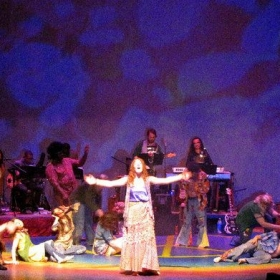 A production of HAIR for which I served as music director and guitarist.
