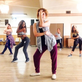 Teaching Open Level Lyrical Hip-Hop at Hollywood dance Center 08/05/15