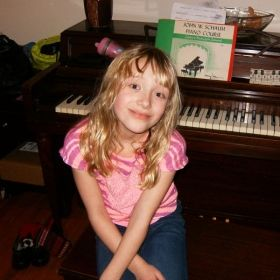 happy Piano Student Hannah F.