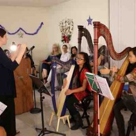 Harp Ensemble for Nursing School Graduation