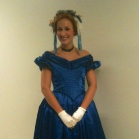 A chorister in La Sonnambula with Florida Grand Opera