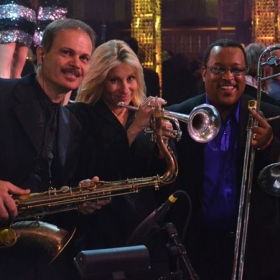 New Years Eve with The Liquid Blue Band at The Wyndam Hotel in Las Vegas with The Blue Brass Horns.