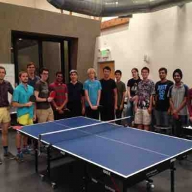 Ping Pong event at Apple company .