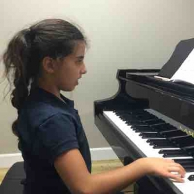 Younger generation! Piano love is universal. :)