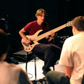 Teaching at the Kansas City Bass Workshop!