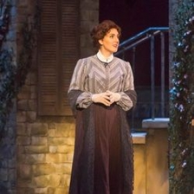 "As Caroline Abbott in the world premiere of ""Where Angels Fear to Treat"" by Mark Weizer."