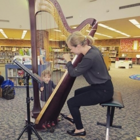 Summer 2014 at a public library in Annapolis, Maryland