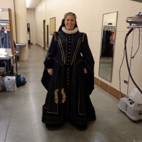 Me in WGO's production of Don Carlo (2015).