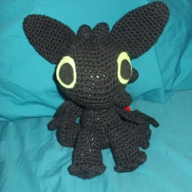 Toothless I made my sister.