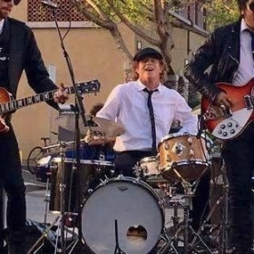 Playing with Falling Doves at The San Diego Beatle Fair Saturday March 26th 2016 at The Queen Bee's Arts and Cultural Center.