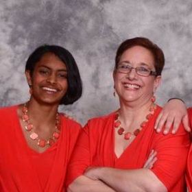 All 4 WoN quartet at our first Harmony, Incorporated contest.