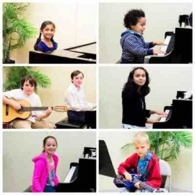 With some of les artistes during our annual fall recital