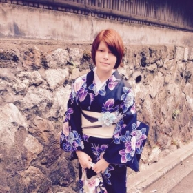 Visiting temples in Kyoto
