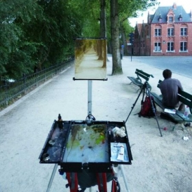 En Plein Air - capturing moments of nature