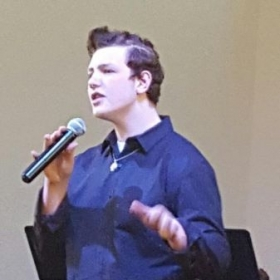 One of the vocal students.