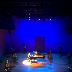 """European premiere of James Tenney's """"For Piano and..."""" The Netherlands, 2015"""
